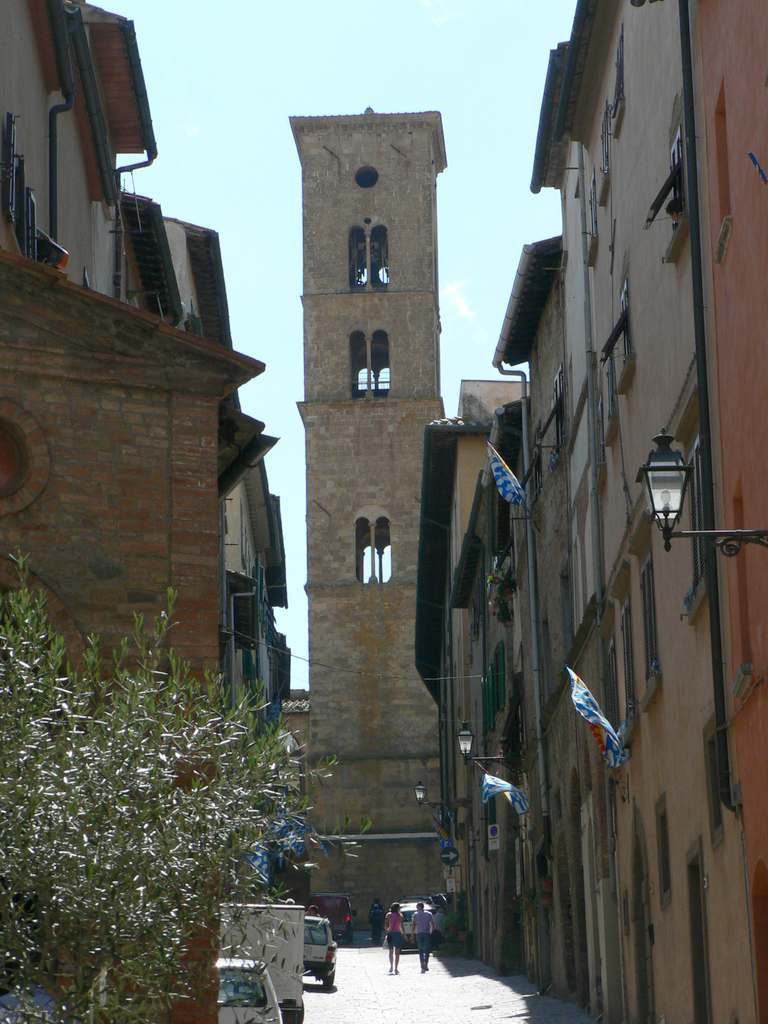Bell tower in Italy - ...