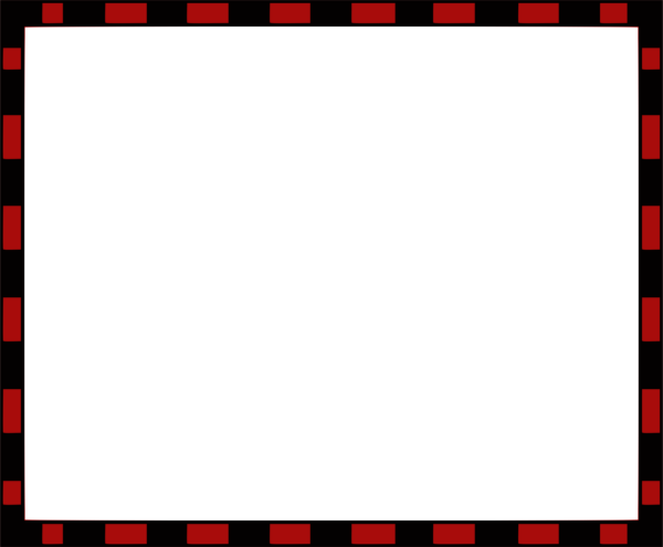 Black Red Frame Border Photopublicdomain Com