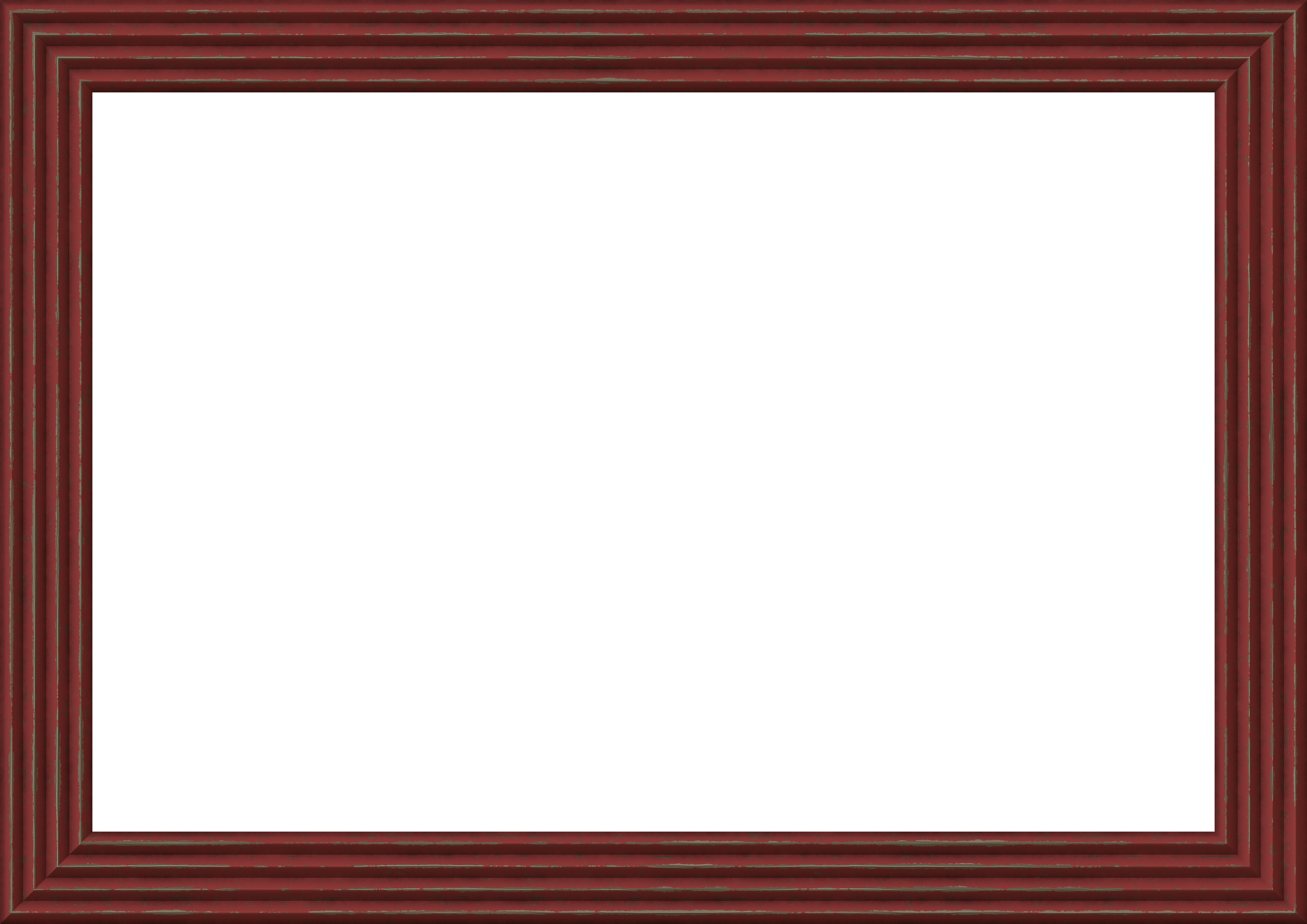 Red picture frame border - Photopublicdomain.com