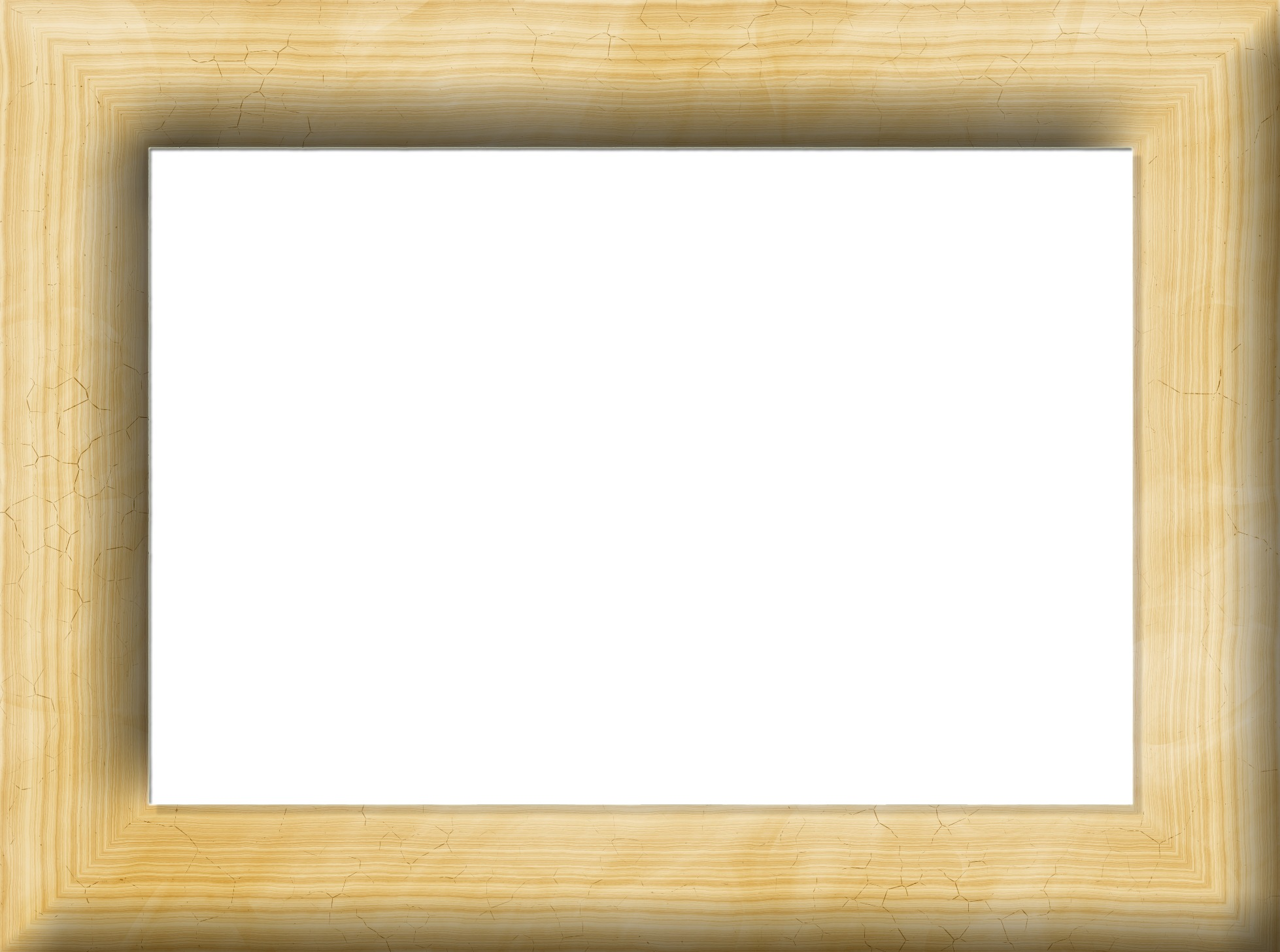 Wooden Frame Border Cracks Photopublicdomain Com